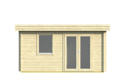 CORK LOG CABIN 4.3M X 4.3M 2