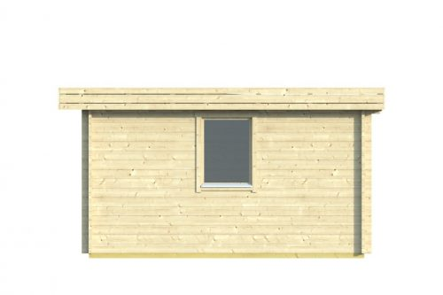 CORK LOG CABIN 4.3M X 4.3M 3
