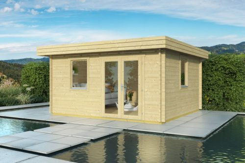 CORK LOG CABIN 4M X 3M