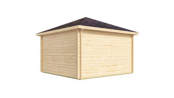 Five-corner wooden garden shed FARGO 44 B   3.8 x 3.8 m (12'6'' x 12'6'') 44 mm 4