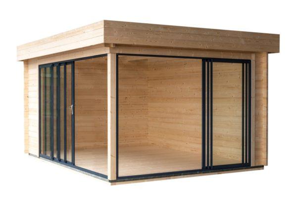 Aluminium Concept garden room ALU Concept 70 A   4.8 x 3.6 m (15'7'' x 11'7'') 70 mm 8