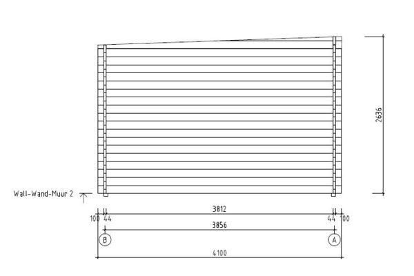 Compact garden room with sliding doors ALU Concept 70 E | 4.1 x 4.4 m (13'5'' x 14'5'') 11