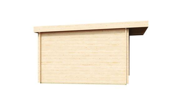 Compact garden room with sliding doors ALU Concept 70 E | 4.1 x 4.4 m (13'5'' x 14'5'') 5