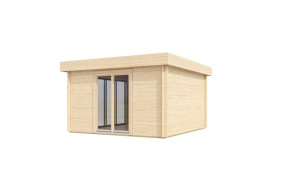 Light filled compact garden room ALU Concept LOUNGE 44 A | 4.4 x 4.4 m (14'5'' x 14'3'') 44 mm 3