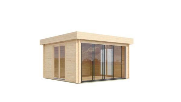 Light filled compact garden room ALU Concept LOUNGE 44 A | 4.4 x 4.4 m (14'5'' x 14'3'') 44 mm 5