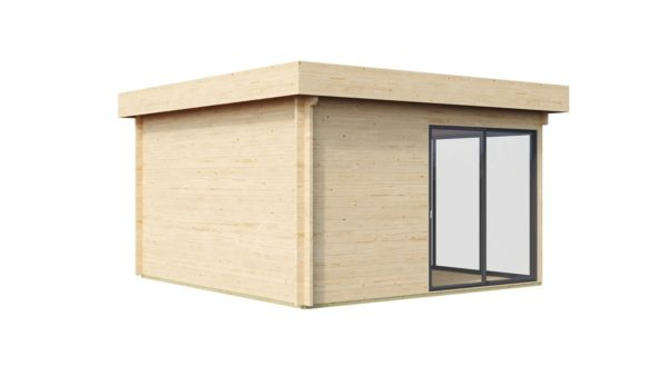Garden room with safety glass ALU Concept 70 H | 4.5 x 4.4 m (14'6'' x 14'4'') 70 mm 5