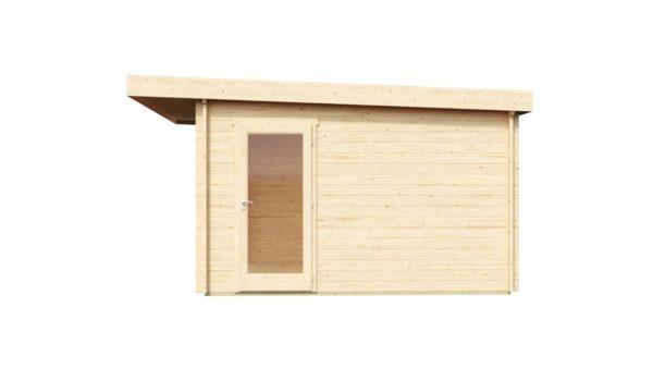Garden room with aluminium doors ALU Concept E 44 | 4.1 x 4.4 m (13'5'' x 14'5'') 3