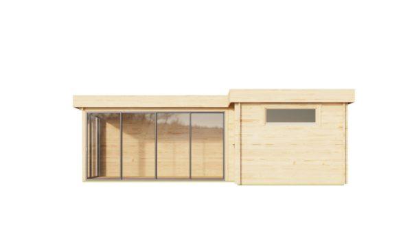 Multifunctional modern cabin ALU Concept N 44 | 8 x 5 m (26'3'' x 16'4'') 44 mm 2