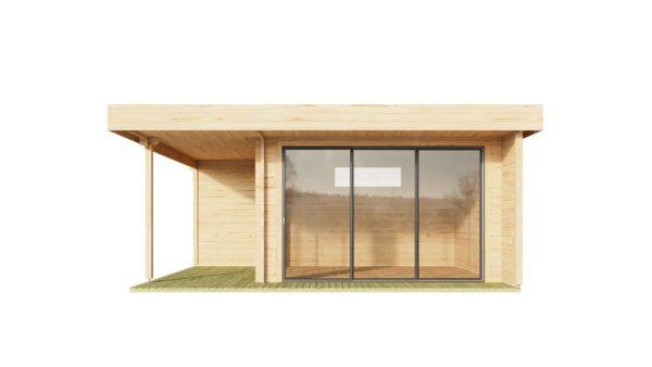 Modern garden room ALU Concept RELAX 44 A | 6 x 5.3 m (19'7'' x 17'4'') 44 mm 2
