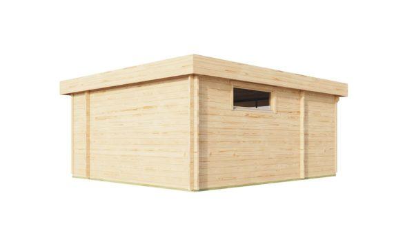 Modern garden room ALU Concept RELAX 44 A | 6 x 5.3 m (19'7'' x 17'4'') 44 mm 5
