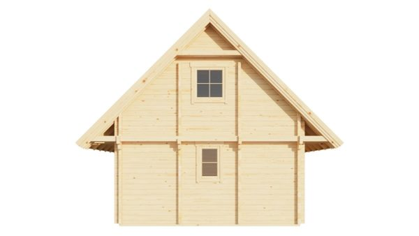 A classical 2-storey log house ANDERS 90 | 8.2 m x 5.5 m (26'10'' x 18') 90 mm 7