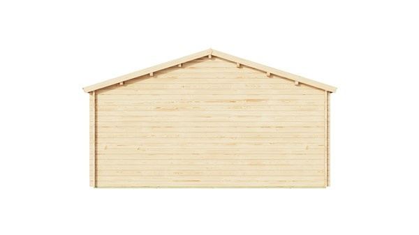 Log cabin ALU Concept AROSA C 44 | 6.2 x 8.3 m (20'3'' x 27'2'') 44mm 5