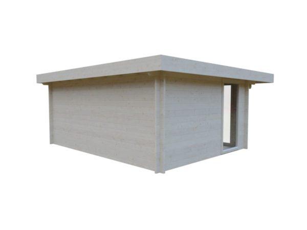 Compact garden room BARBARA 44 B | 4.8 x 3.6 m (15'9'' x 11'10'') 44 mm 4