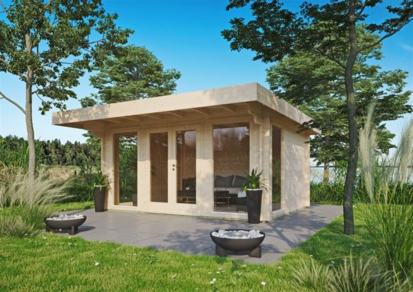 Natural light embracing garden room BARBARA 70 A | 4.2 x 3.3 m (13'7'' x 10'10'') 70 mm 1
