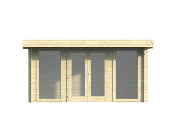 Natural light embracing garden room BARBARA 70 A   4.2 x 3.3 m (13'7'' x 10'10'') 70 mm 2