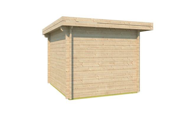 Simple modern garden shed BARUDA 44 | 3.6 x 3.3 m (11'9'' x 10'7'') 44 mm 6