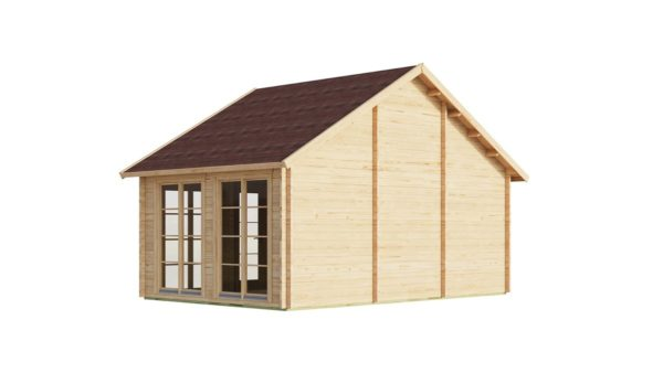 Family log cabin BERN 70   6.2 x 4.2 m (20'4'' x 13'9'') 70 mm 3