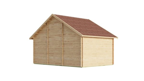 Family log cabin BERN 70   6.2 x 4.2 m (20'4'' x 13'9'') 70 mm 4
