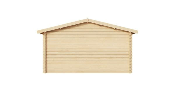Wooden garden shed BRIDGET 28 | 4 x 4 m (13'1'' x 13'1'') 28 mm 3