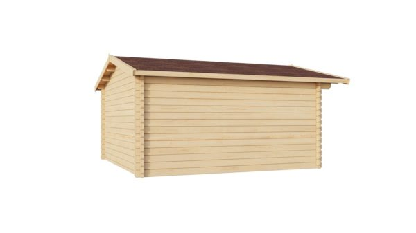 Wooden garden shed BRIDGET 28 | 4 x 4 m (13'1'' x 13'1'') 28 mm 5