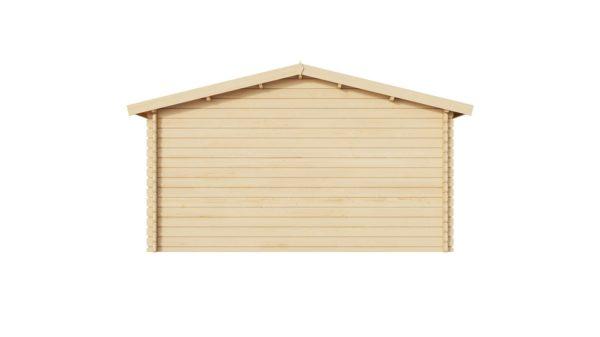 Simple garden shed BRIDGET 44 | 4 x 4 m (13'1'' x 13'1'') 44 mm 4