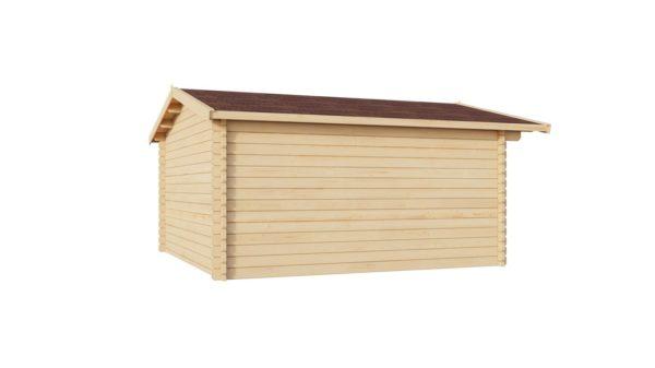 Simple garden shed BRIDGET 44 | 4 x 4 m (13'1'' x 13'1'') 44 mm 5