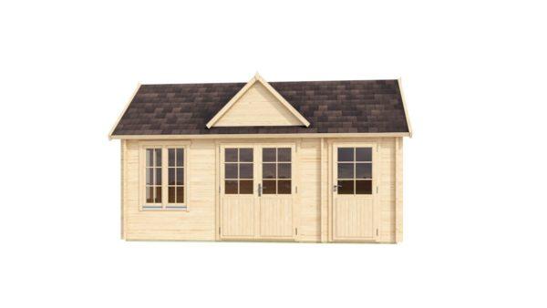 Garden room Clockhouse BRADFORD 70 | 5.9 x 3.5 m (19'2'' x 11'4'') 70mm 3