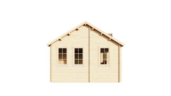 Wooden summer house Clockhouse BRISTOL 44 | 4.4 x 8.2 m (14'5'' x 26'11'') 44 mm 5