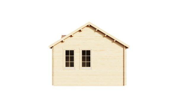 Wooden summer house Clockhouse BRISTOL 44 | 4.4 x 8.2 m (14'5'' x 26'11'') 44 mm 3