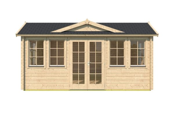 Classical garden room Clockhouse NEWCASTLE 70 | 5.7 x 4.2 m (18'8'' x 13'8'') 70 mm 2