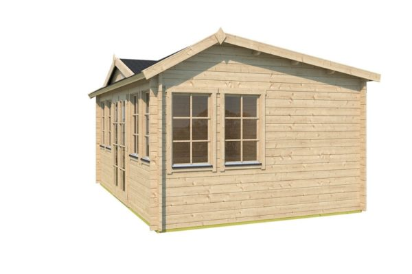 Classical garden room Clockhouse NEWCASTLE 70 | 5.7 x 4.2 m (18'8'' x 13'8'') 70 mm 3