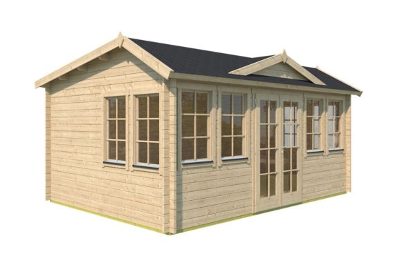 Classical garden room Clockhouse NEWCASTLE 70 | 5.7 x 4.2 m (18'8'' x 13'8'') 70 mm 6