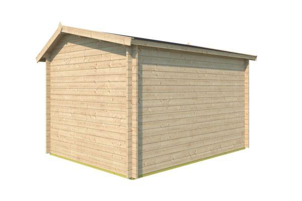 Gable roof garden room Clockhouse OXFORD 44   4.4 x 3.4 m (14'5'' x 11'2'') 44 mm 4