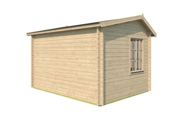 Classical compact garden room Clockhouse OXFORD 70 | 4.4 x 3.4 m (14'5'' x 11'2'') 70 mm 5