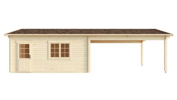4 vehicle garage DOUBLE GARAGE AND CARPORT 70 | 10.6 m x 5.3 m (35' x 19'6'') 70 mm 5