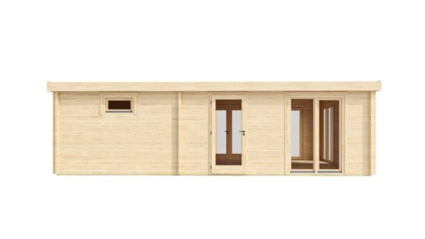 3-room modern garden house HENNING 70 | 8.7 x 6 m (28'7'' x 19'6'') 70 mm 4