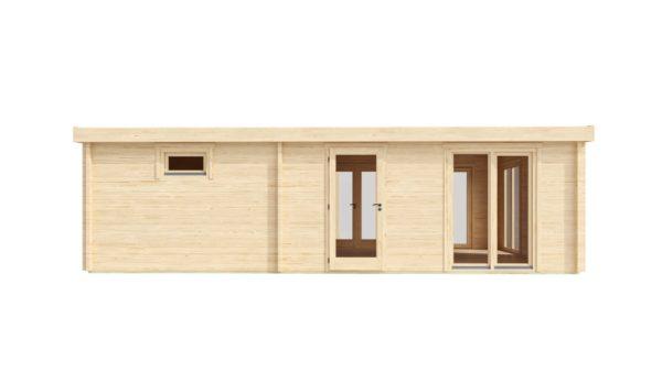 3-room modern garden house HENNING 70   8.7 x 6 m (28'7'' x 19'6'') 70 mm 4