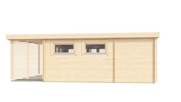 Modern garden annexe KILIAN 44 | 8 x 6.2 m (26'3'' x 20'3'') 44 mm 4