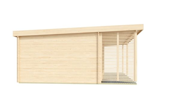 Modern garden annexe KILIAN 44 | 8 x 6.2 m (26'3'' x 20'3'') 44 mm 5