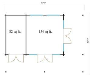 Light-filled KILIAN 70 Garden House | 8 x 6.2 m (26'3'' x 20'3'') 70 mm 9