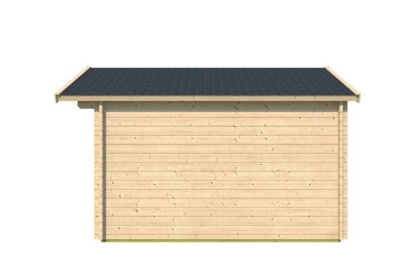 A simple shed with a double door, LEXI 44H | 3.4m x 4.4m (11' 2'' x 14' 5'') 44mm 4
