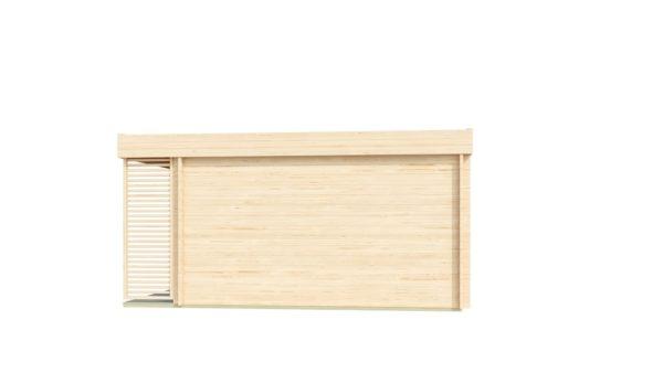 Modern wooden home office LISA B 44 | 6.6 x 4.7 m ( 21'8'' X 15'6'') 44mm 4