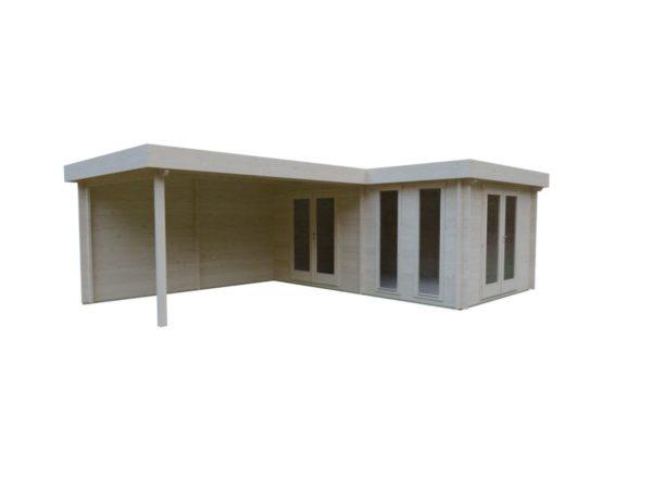 Luxurious 2-room garden annexe Luisa 44 | 6.8 x 4.8 m (22'4'' x 15'9'') 44 mm 3