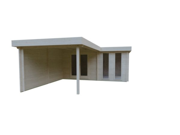 Luxurious 2-room garden annexe Luisa 44 | 6.8 x 4.8 m (22'4'' x 15'9'') 44 mm 7