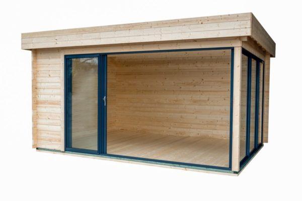 Simple garden room ALU Concept A 44 | 4.8 x 3.6 m (15'7'' x 11'7'') 44 mm 9