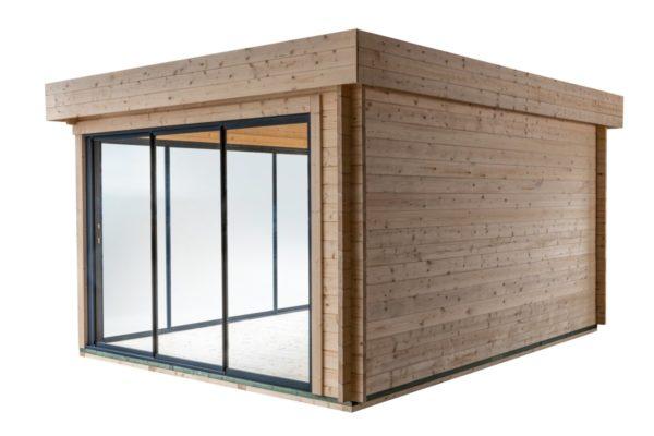 Simple garden room ALU Concept A 44 | 4.8 x 3.6 m (15'7'' x 11'7'') 44 mm 8