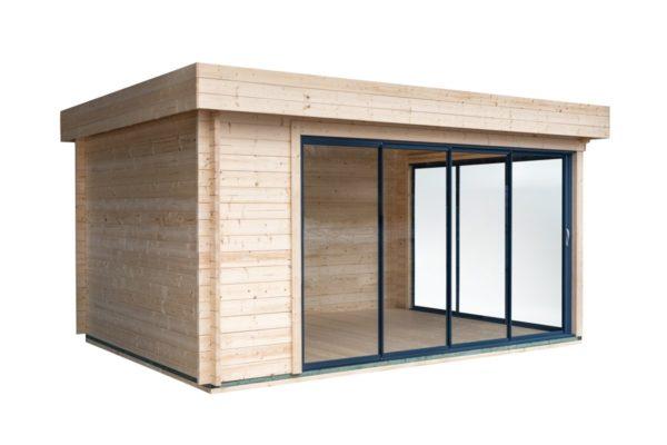 Simple garden room ALU Concept A 44 | 4.8 x 3.6 m (15'7'' x 11'7'') 44 mm 6