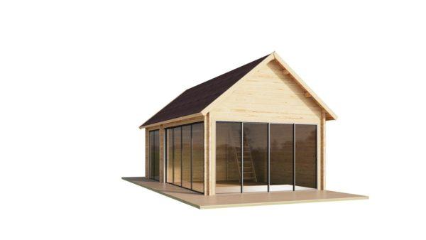 Outdoor Kitchen Lounge MAREK 70 | 8 x 4.6 m (26'5'' x 15'1'') 70 mm 4