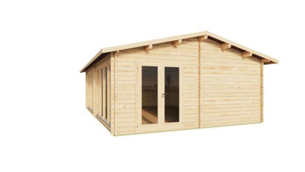 Wooden Garden Gym MARINA 44 | 8.6 x 6.6 m (28'21'' x 21'49'') 44 mm 3