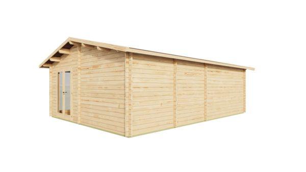 Wooden Garden Gym MARINA 44 | 8.6 x 6.6 m (28'21'' x 21'49'') 44 mm 4